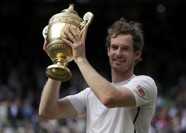 2度目の全英制覇を果たしたマリー。格下と戦う初めてのグランドスラム決勝になった
