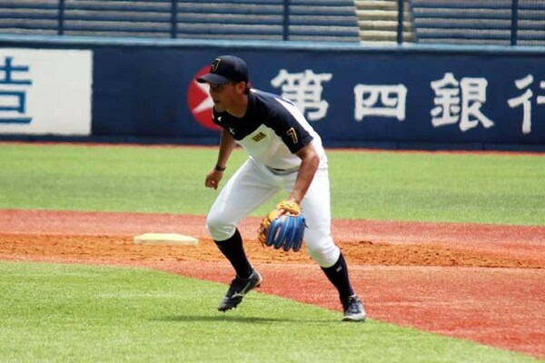 プロ注目の中京学院大・吉川は同じくドラフト上位候補の日大・京田とともに二遊間を組む予定