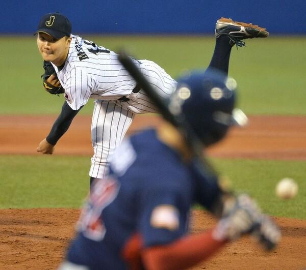 東大として33年ぶり史上2人目の大学日本代表として日米大学野球第3戦に先発した宮台。3回途中1失点で降板したが、最速150キロのストレートを武器に4者連続三振を奪うなど潜在能力の高さを見せた