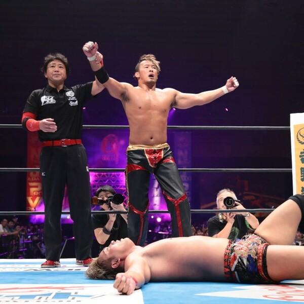 G1開幕戦でIWGP王者オカダを下したノア丸藤は「この夏を制するのは、このオレだ!」と優勝宣言