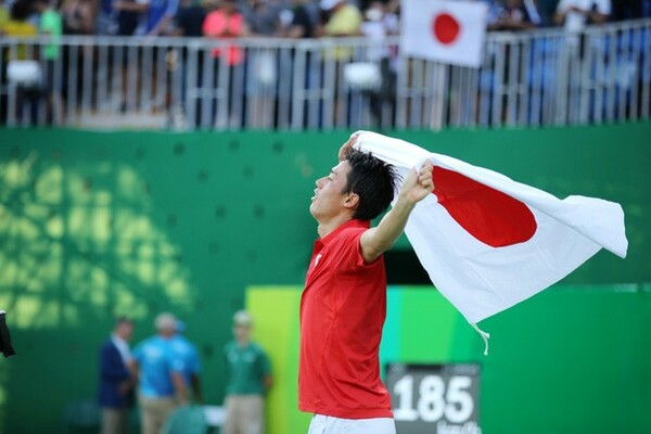 テニスでは1920年アントワープ五輪以来のメダルを獲得した錦織圭