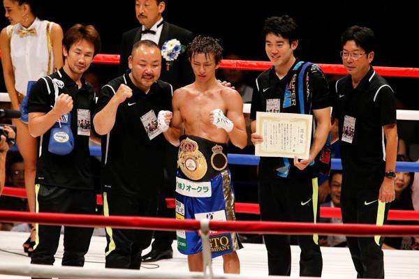 WBA世界ライトフライ級タイトルマッチは王者・田口良一が3−0の判定勝ち