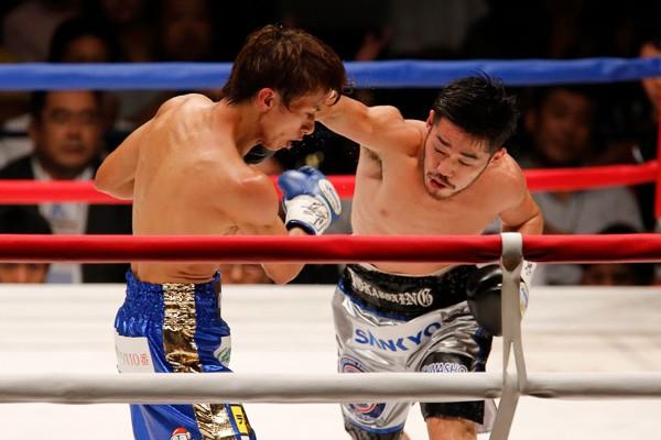 宮崎にとってライトフライは苦しい減量との戦いとなり本来の力を出し切れなかった