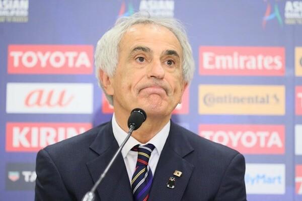 UAE戦後の会見で「私のチョイスが悪かった」と敗因を語ったハリルホジッチ監督