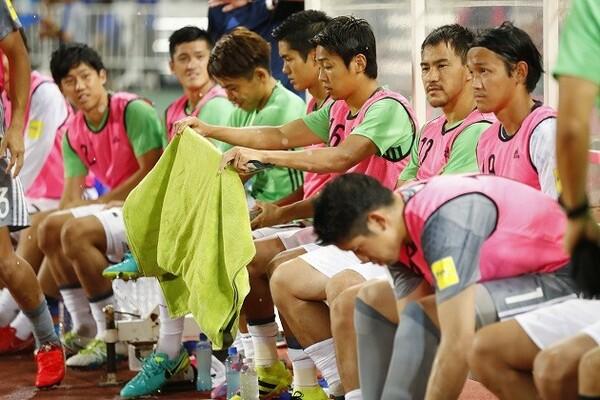 日本代表のタイ戦では出場機会のなかった岡崎