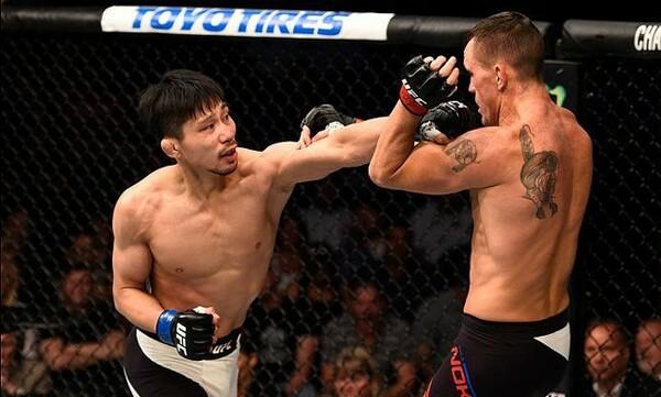 10月の「UFCファイトナイト」で復帰後4戦目に臨む中村K太郎にインタビュー