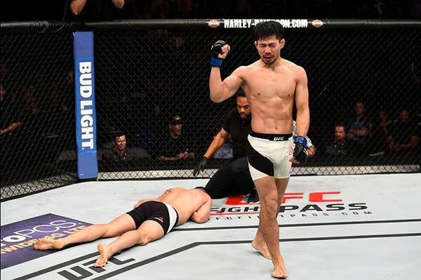 昨年UFCのリングに戻ってから3戦2勝1敗。勝利の要因はメンタルの変化だと話す