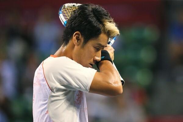 今年、自己最高位82位まで駆け上がった杉田。しかし楽天オープンではなかなか結果を残せない