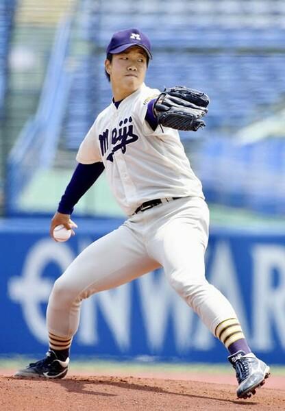 ドラフト1位候補に挙がる明大・柳。10月13日現在、東京六大学通算21勝、301奪三振を記録している