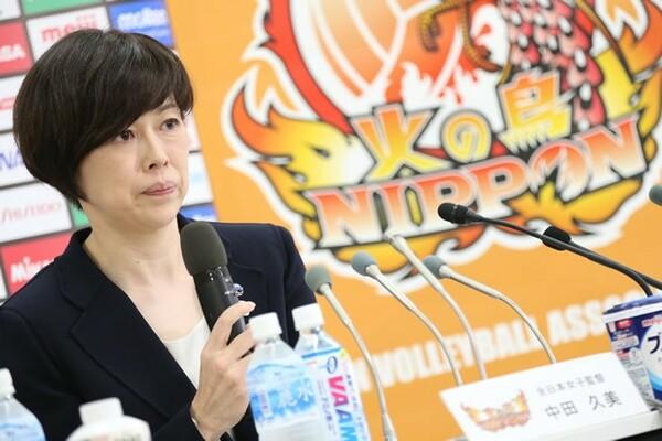 次期代表監督に内定した中田監督。久光でリーグ優勝3度の実績を残している