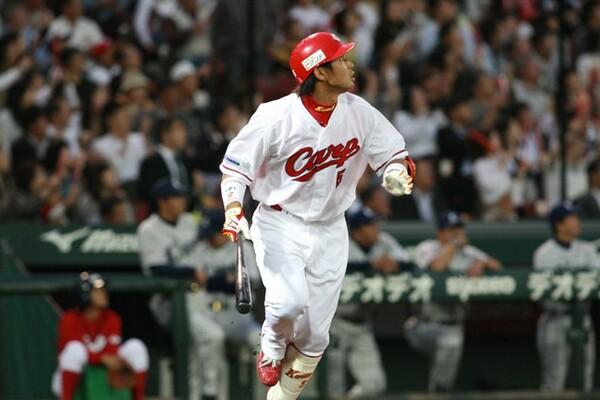2009年には23本塁打をマークして4年連続で20本超え。通算100本塁打をマークした年でもあった