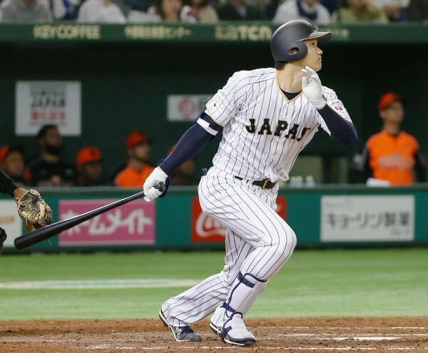 第3戦で特大ホームランを放つなど、あらためて日本トップクラスの打力を見せつけた大谷