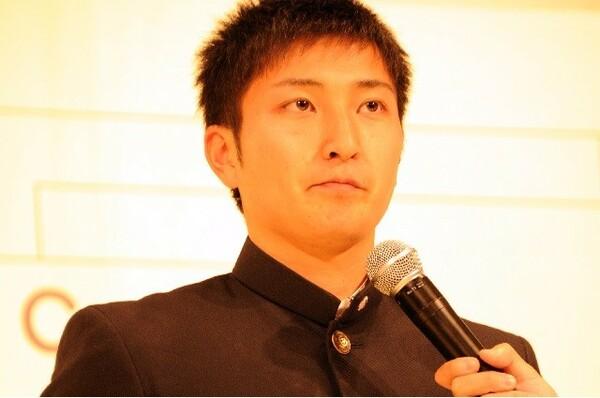 選手宣誓を引き当てた青森山田の住永主将は「固くなり過ぎずしっかりとやりたい」とコメント