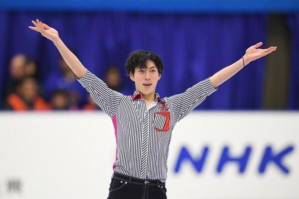 NHK杯で表彰台に上った田中刑事だが「まだまだ足りない」と話す