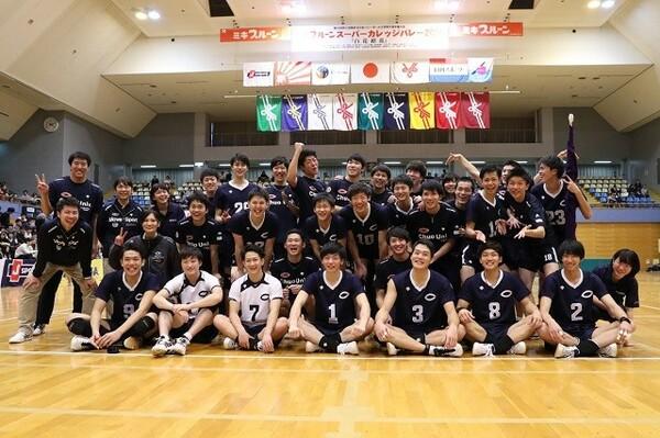 全日本インカレ3連覇という快挙を達成した中央大