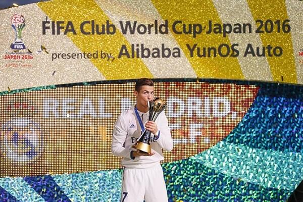 クラブW杯優勝について「完璧な1年の締めくくりだった」とコメントしたC・ロナウド