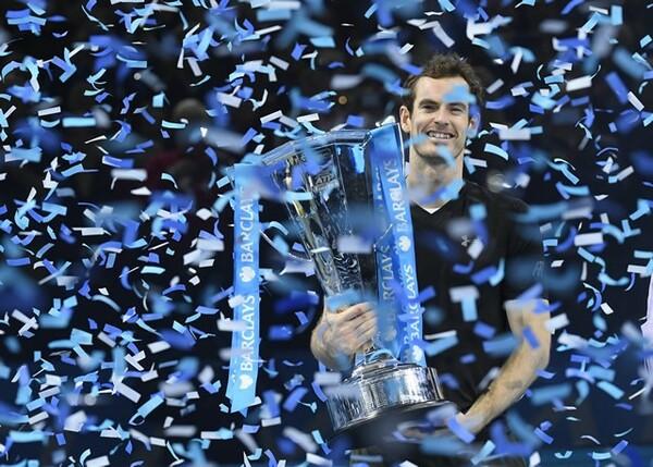 世界ランク1位、ATPファイナルズ優勝、五輪連覇……。2016年、マリーはまさに大輪の華を咲かせた