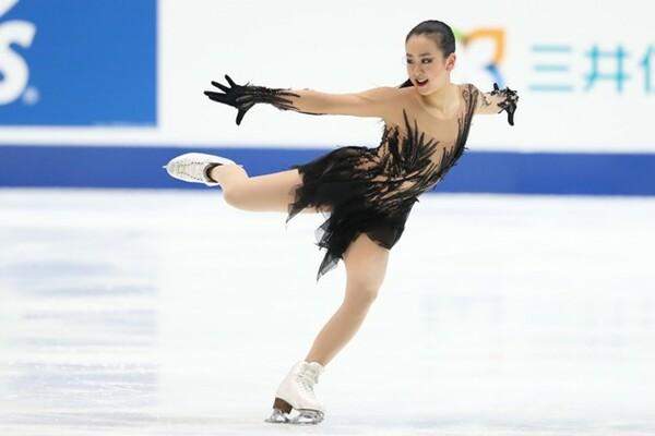 全日本選手権の女子SP8位スタートとなった浅田真央