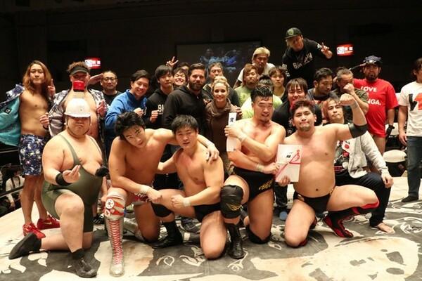 恒例・年越しプロレスのタッグトーナメントは樋口&宇藤の若手タッグが優勝