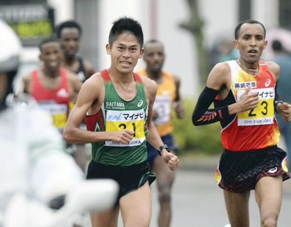 福岡国際マラソンで世界陸上を大きく引き寄せた川内優輝。その胸のうちを手記で綴ってもらった