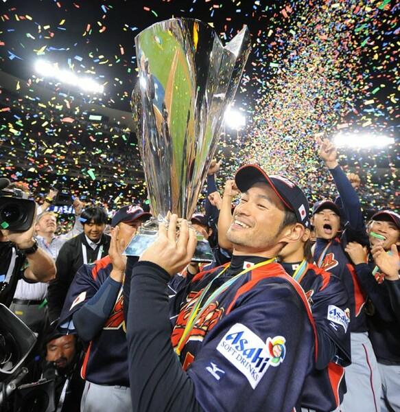 不振をかこっていたイチローだったが、最後の最後に大仕事。日本を大会連覇に導いた
