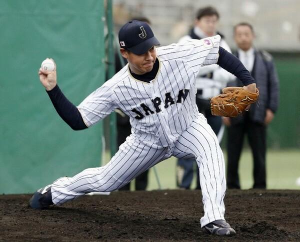 小久保監督も称賛した牧田は合宿初日から力強いストレートを投げ込んだ