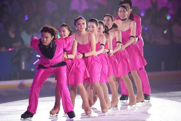 プリンスアイスワールドは40年近く続いているが、日本ではショーよりも競技会が注目される傾向にある