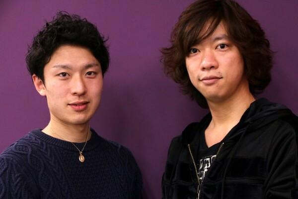 プリンスアイスワールドチームに所属する小林宏一(右)と松村成に、プロとアマチュアの違い、やりがいや未来について語ってもらった