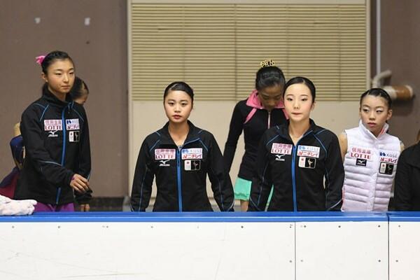 日本からは坂本(左)、白岩(左から2人目)も出場。共に優勝を視野に入れている
