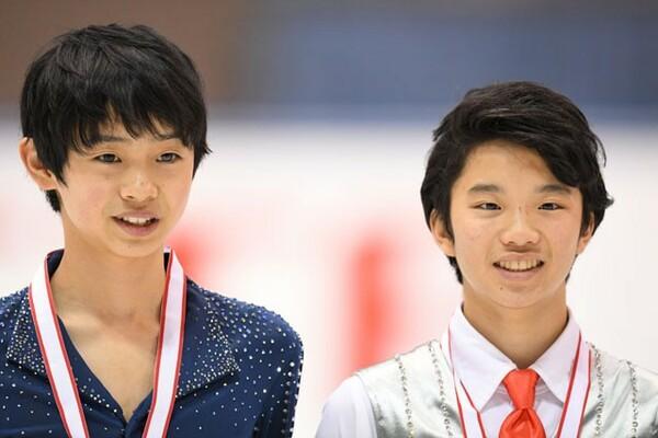 男子は友野(右)と島田が出場。表彰台争いにどこまで迫れるか