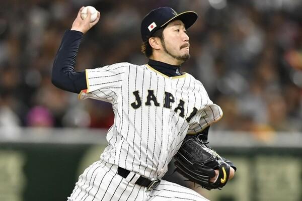 先発・石川はシンカーを効果的に使った投球で4回1失点と好投した