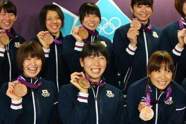木村(左下)は五輪に4回出場。ロンドンでは銅メダルを獲得した