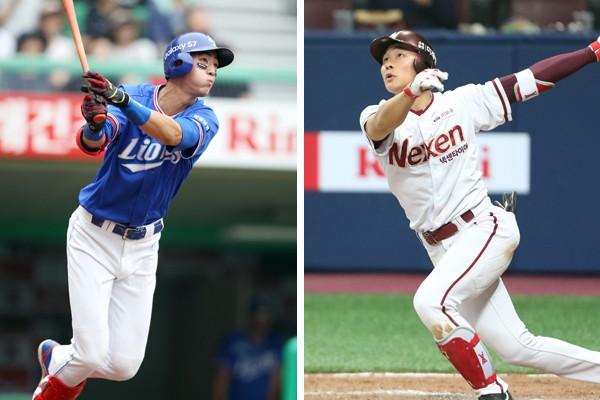 今後の韓国代表を背負う具滋ウク(写真左)と金ハソン