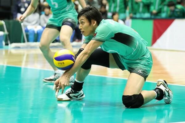 越川は「東京五輪がなかったら、ありえない決断でした」と語る