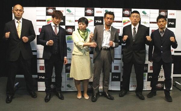 キックボクシング「ZONE6」の記者発表会が行われ、対戦カード、参戦選手が発表された
