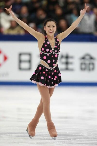 16歳の伸びやかな演技が光った『ジャンピン・ジャック』。写真は10年12月、全日本選手権