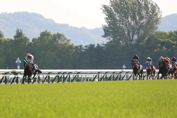 前半はヤマカツライデンが超ハイペースで逃げる中、それでもキタサンブラックは2番手から追走した