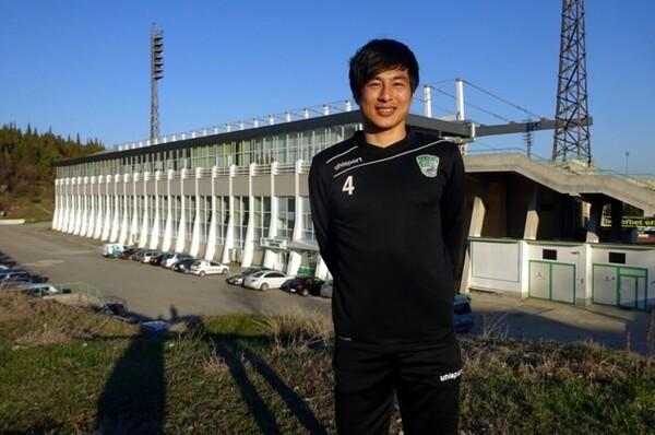ブルガリア1部リーグのベロエでプレーする日本代表予備メンバーの加藤恒平