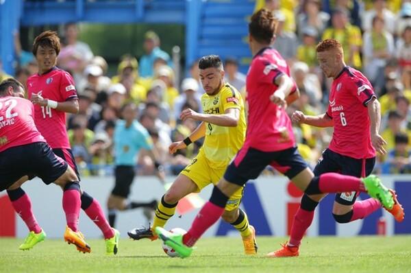 柏戦は0−1で敗れたが、C大阪は昇格組ながら4勝4分け2敗と健闘している