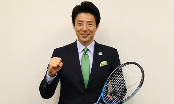 全仏での錦織の活躍を「期待しています」と松岡さん。エールのように、力を込めて語った