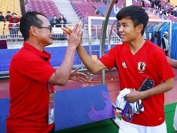 内山監督は「この経験は、彼らのサッカー人生の中で役に立つ」と試合を振り返った
