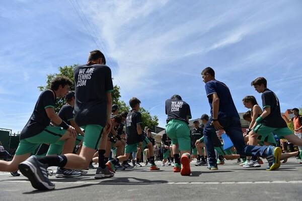 全仏のボールキッズは応募者3000人の中から選抜された精鋭部隊だ
