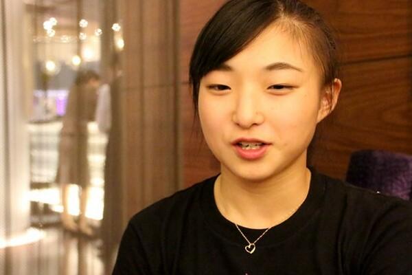 シニアデビューを控える坂本花織に、五輪シーズンへの決意、現在の心境などを語ってもらった