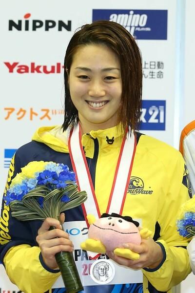 """""""ゴールデンエイジ""""の1人、青木智美。青木のペースで日本代表の座をつかみ、世界水泳、リオ五輪と、ひとつずつ結果を積み重ねている"""