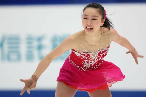全日本ジュニアで優勝した14−15シーズン、樋口新葉の注目度は一気に高まった