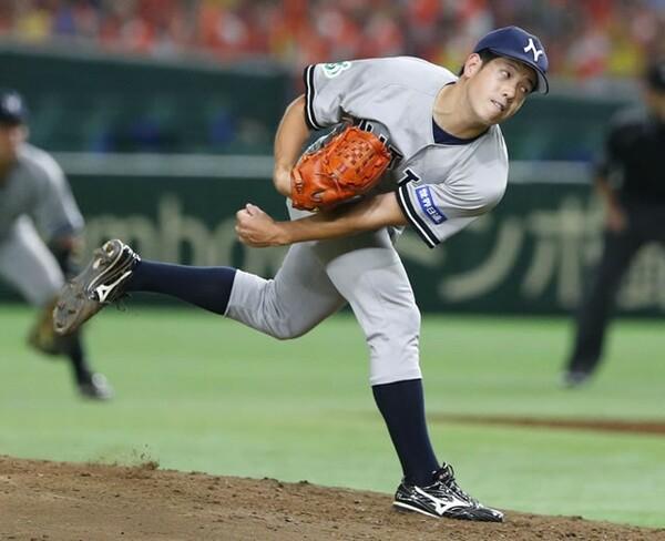 日本通運は準々決勝の西濃運輸戦で無四球完封を記録した高山が先発したが…