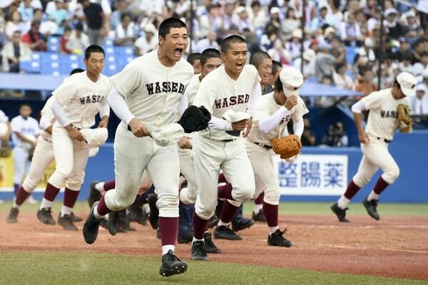高校通算106本塁打の主砲・清宮を中心に西東京大会準決勝まで勝ち上がってきた早稲田実。準決勝では昨年敗れた因縁の難敵・八王子と対戦する