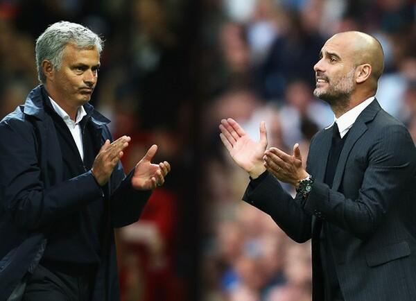 モウリーニョ(左)やグアルディオラのように、チームに数々の栄光をもたらす名監督の条件とは何なのか?