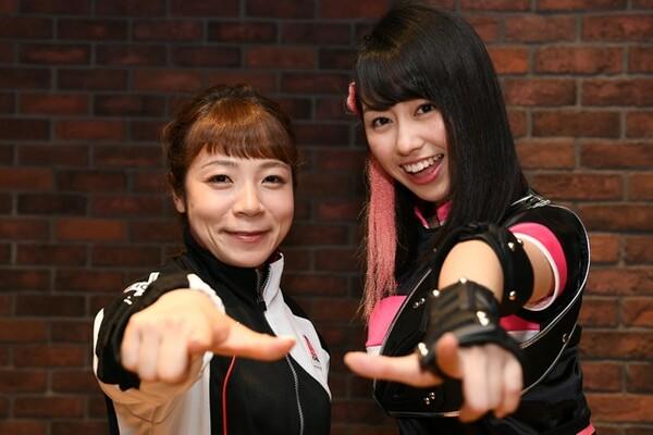 ももいろクローバーZの佐々木彩夏(右)と三宅宏実が「アイドルとスポーツ」と語りつくす!