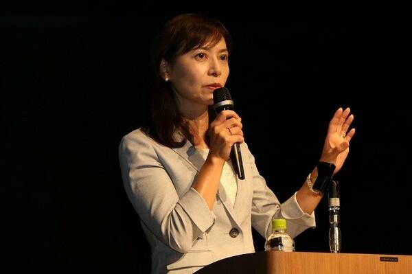 Bリーグ理事の竹内美奈子氏が初年度の総括、今後に向けた課題について語った